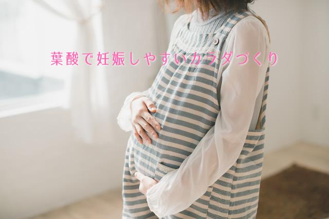 葉酸で妊娠しやすいカラダ作り
